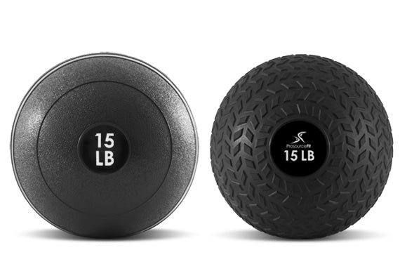 slam ball for beginners_prosourcefit classic slam ball and prosourcefit tread slam ball