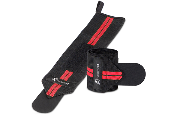 WEIGHT LIFTING WRIST WRAPS WITH LOOP