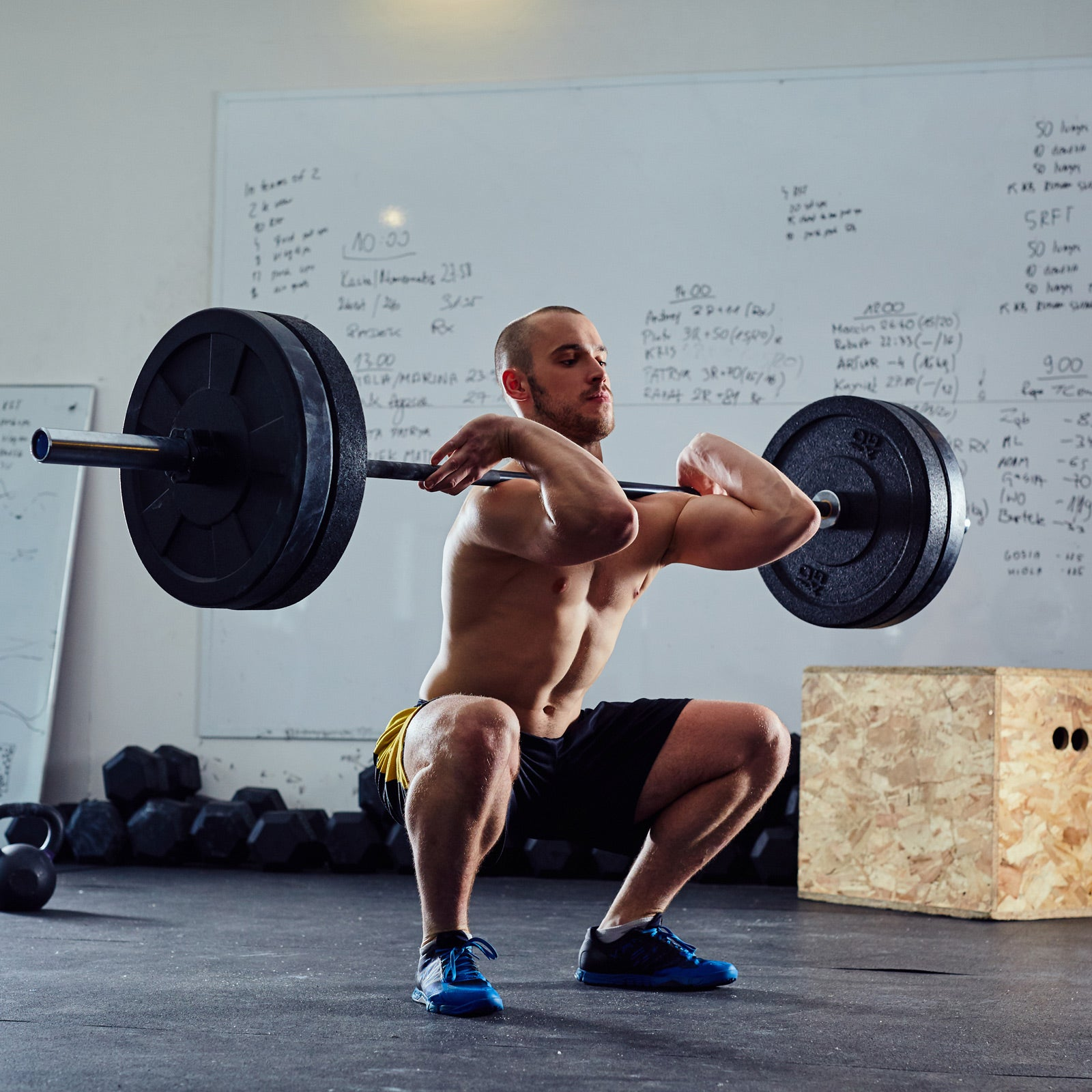 Squat Thruster Exercise - ProSource Blog