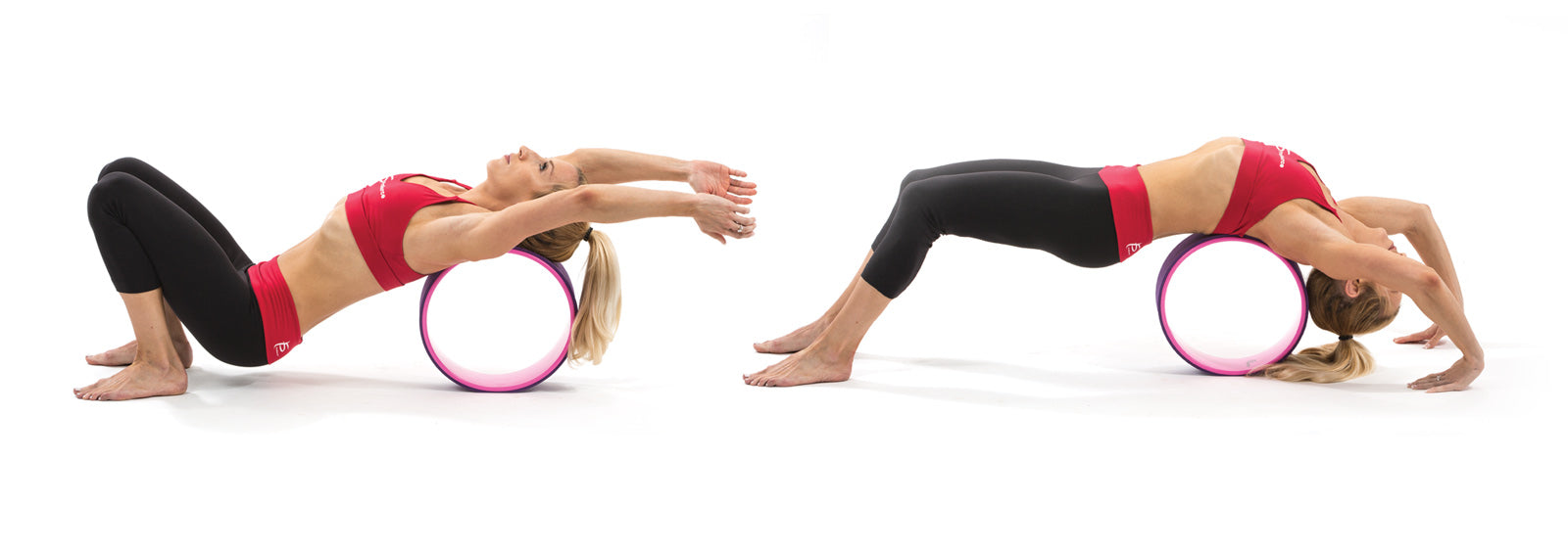 ProSource Yoga Wheel Exercise