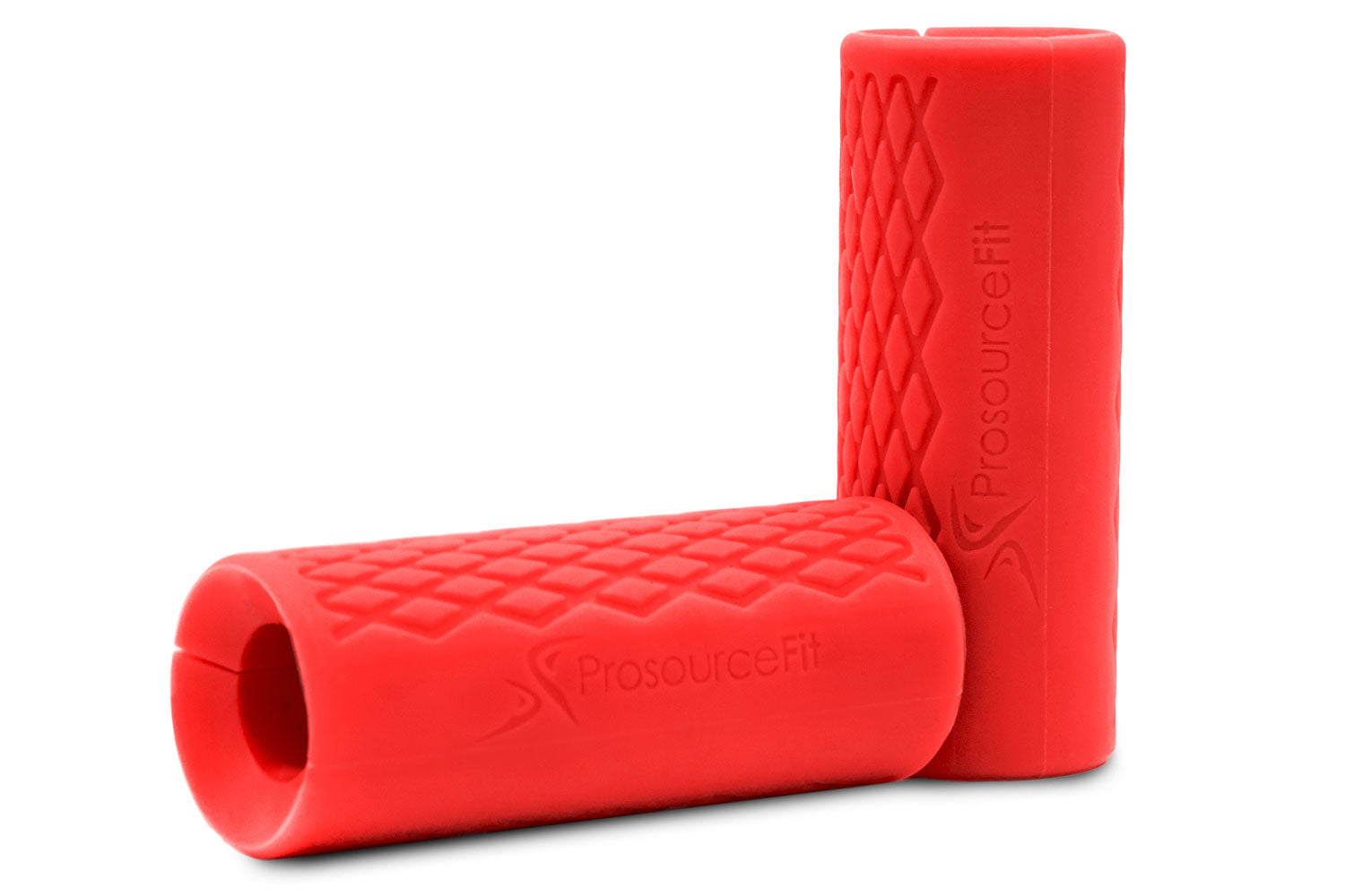 Red Barbell Grips