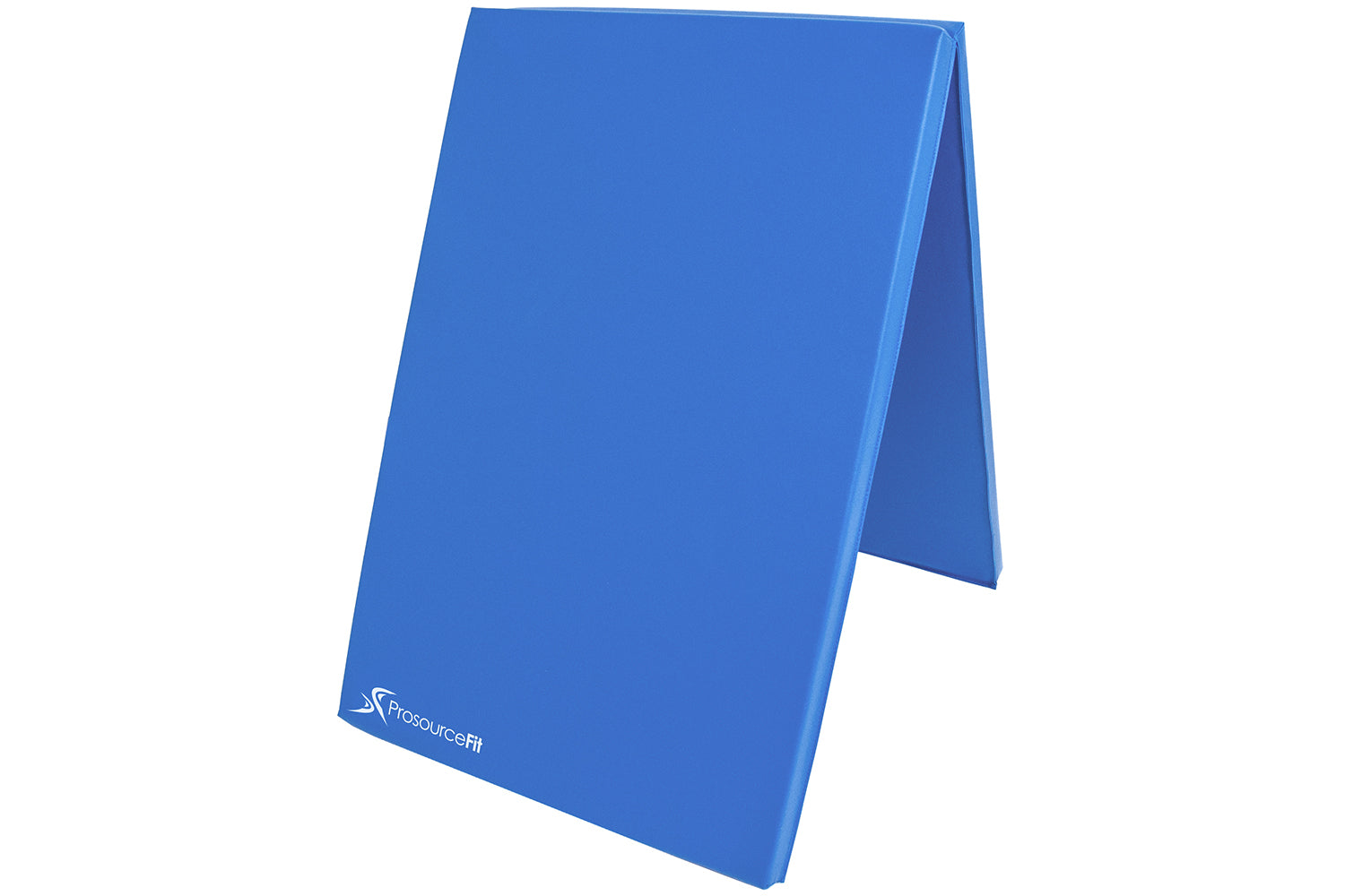 Blue Bi-Fold Folding Exercise Mat
