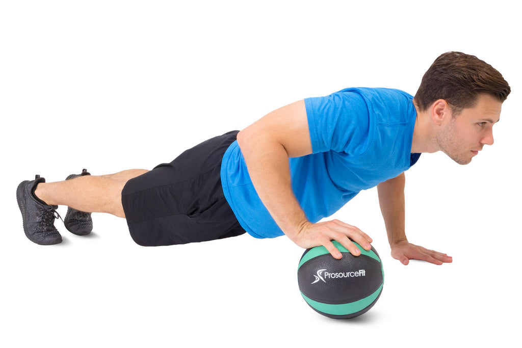 Rubber Medicine Ball 8 lb