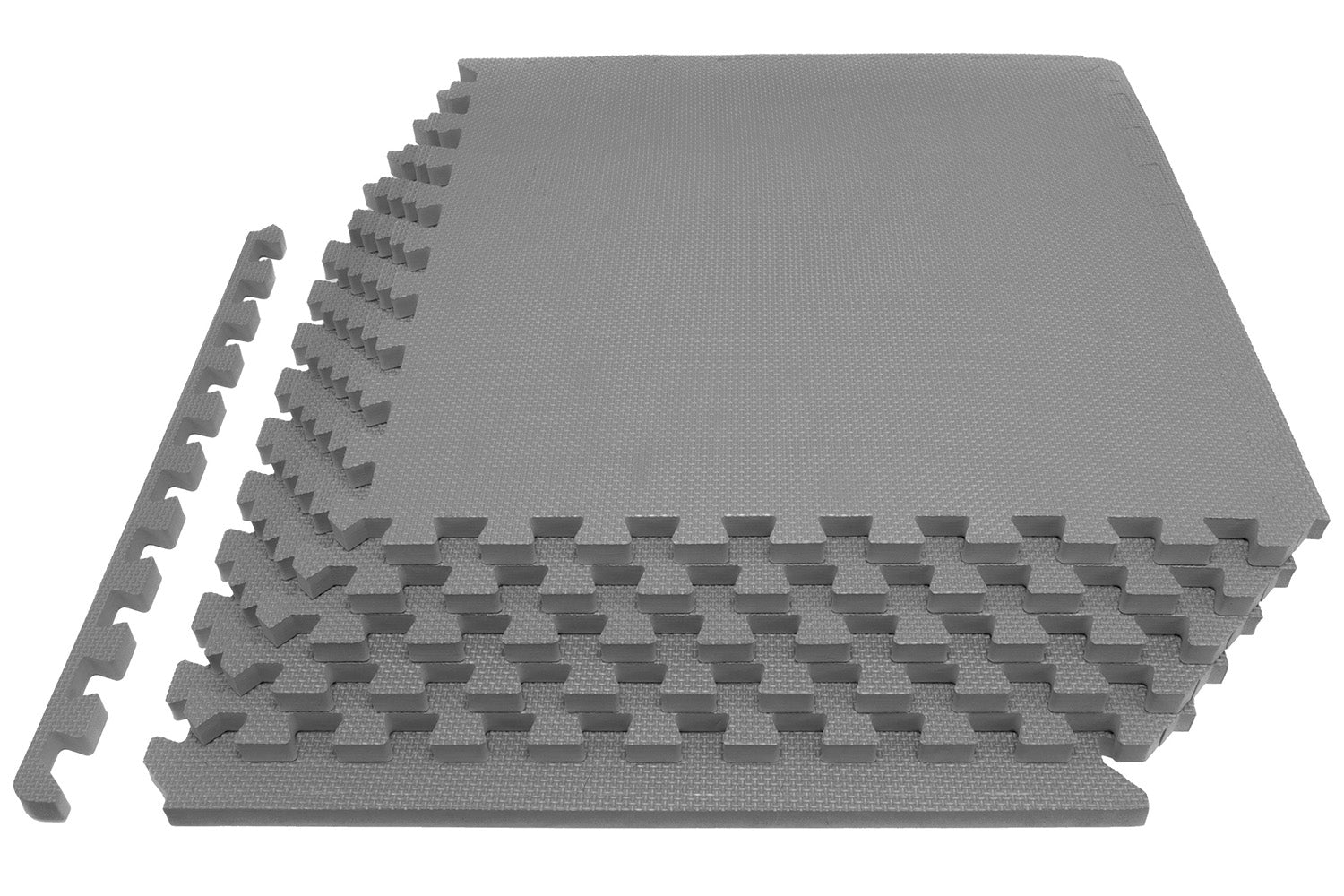 Grey Exercise Puzzle Mat 3/4 inch