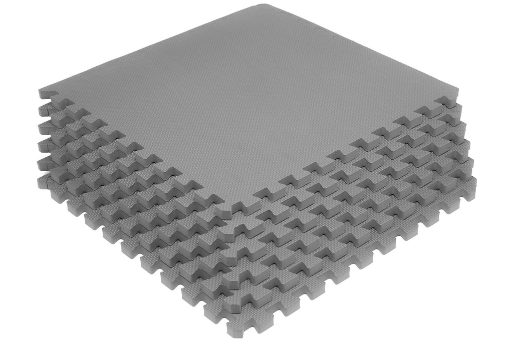Exercise Puzzle Mat 3/4 inch Grey