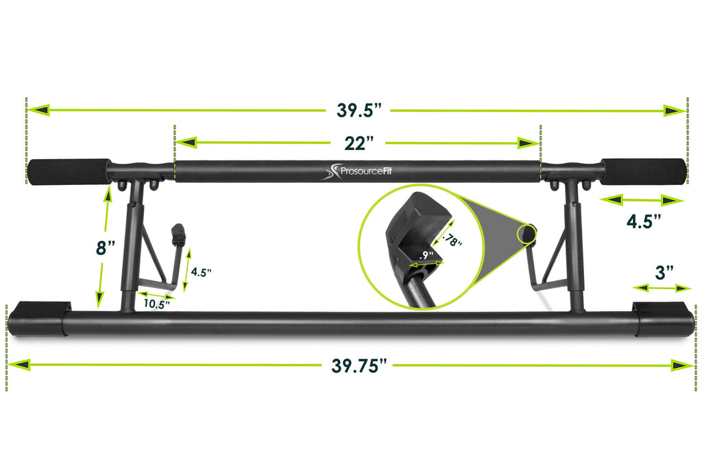 Foldable Doorway Pull-Up Bar Foldable Doorway Pull-Up Bar