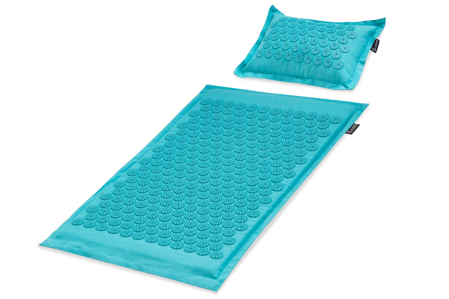 Bahama Blue Ki Acupressure Mat and Pillow Set