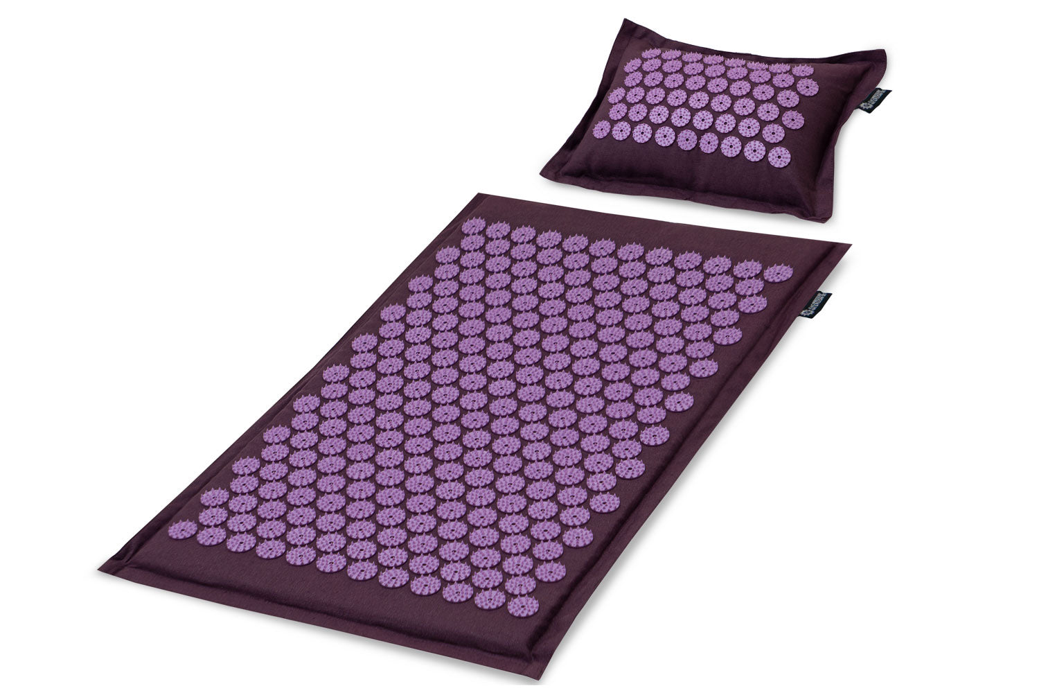 Royal Lilac Ki Acupressure Mat and Pillow Set