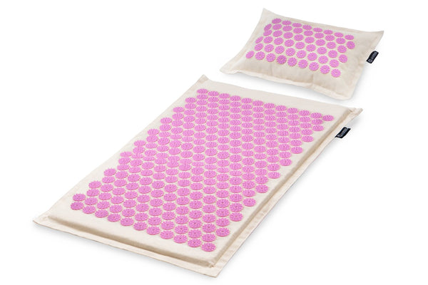 Ki Acupressure Mat and Pillow Set Purple