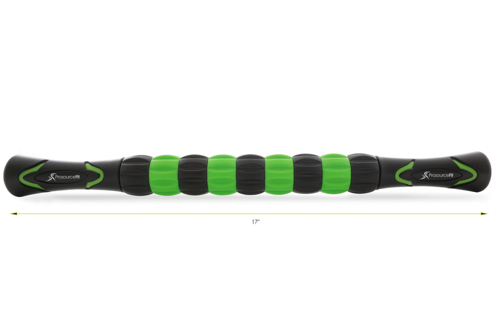 Massage Stick Roller Black-Green
