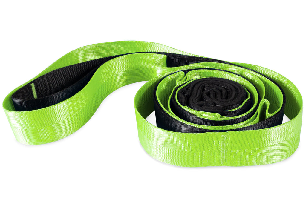 Multi-Loop Stretching Strap Black-Green