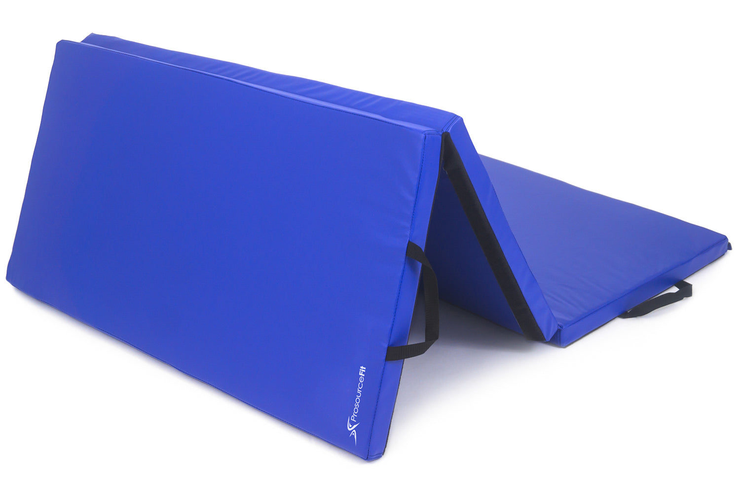 Blue Tri-Fold Folding Exercise Mat 6x4x2