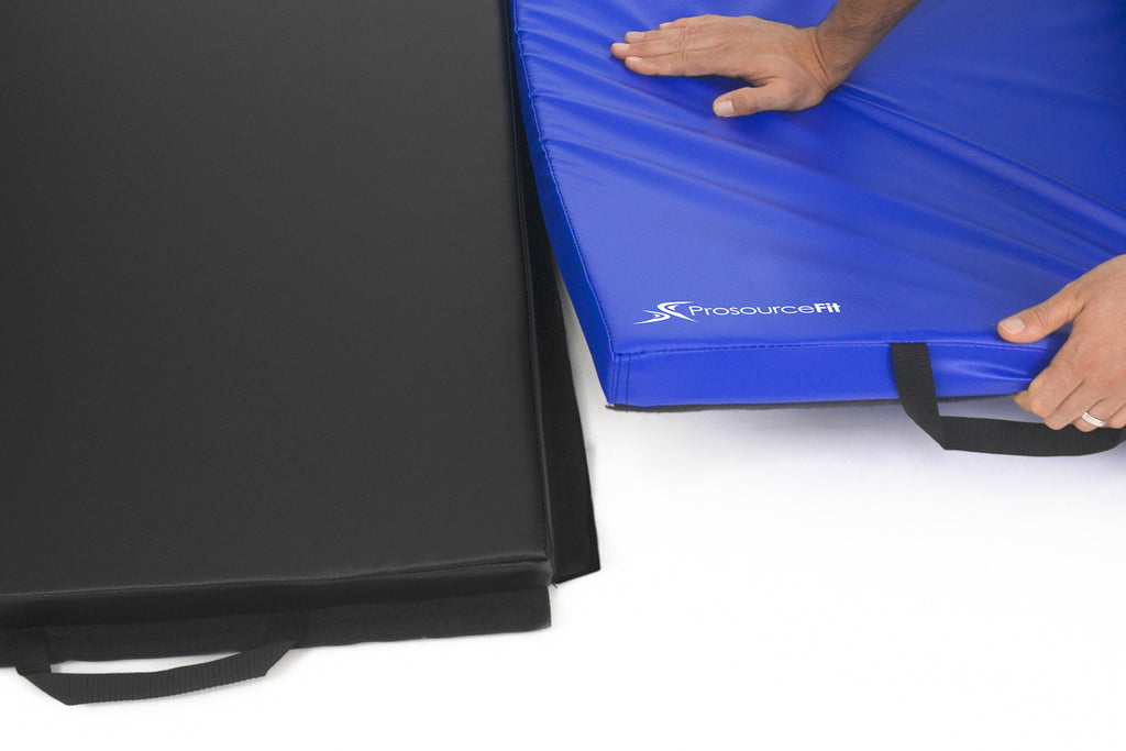 Tri-Fold Folding Exercise Mat 6x4x2 Blue