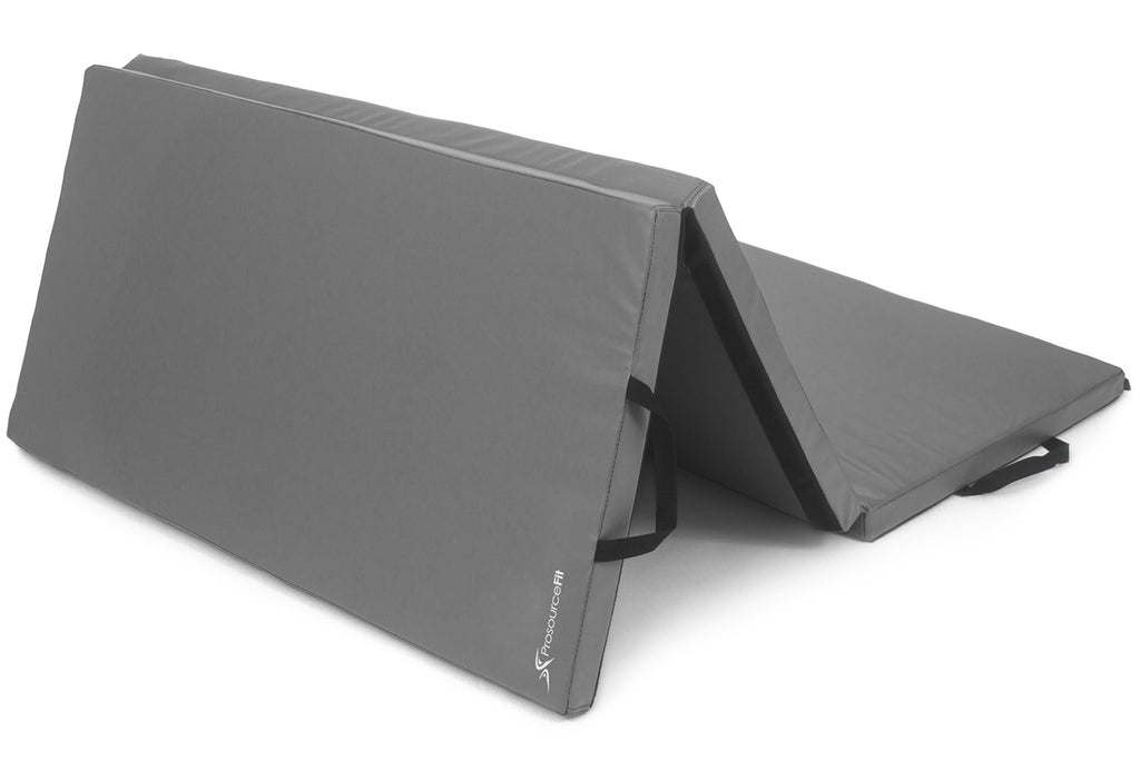 Tri-Fold Folding Exercise Mat 6x4x2 Grey