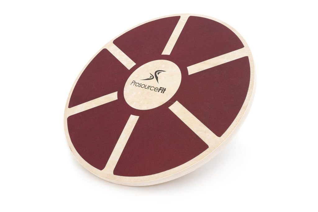 Wooden Balance Board Red