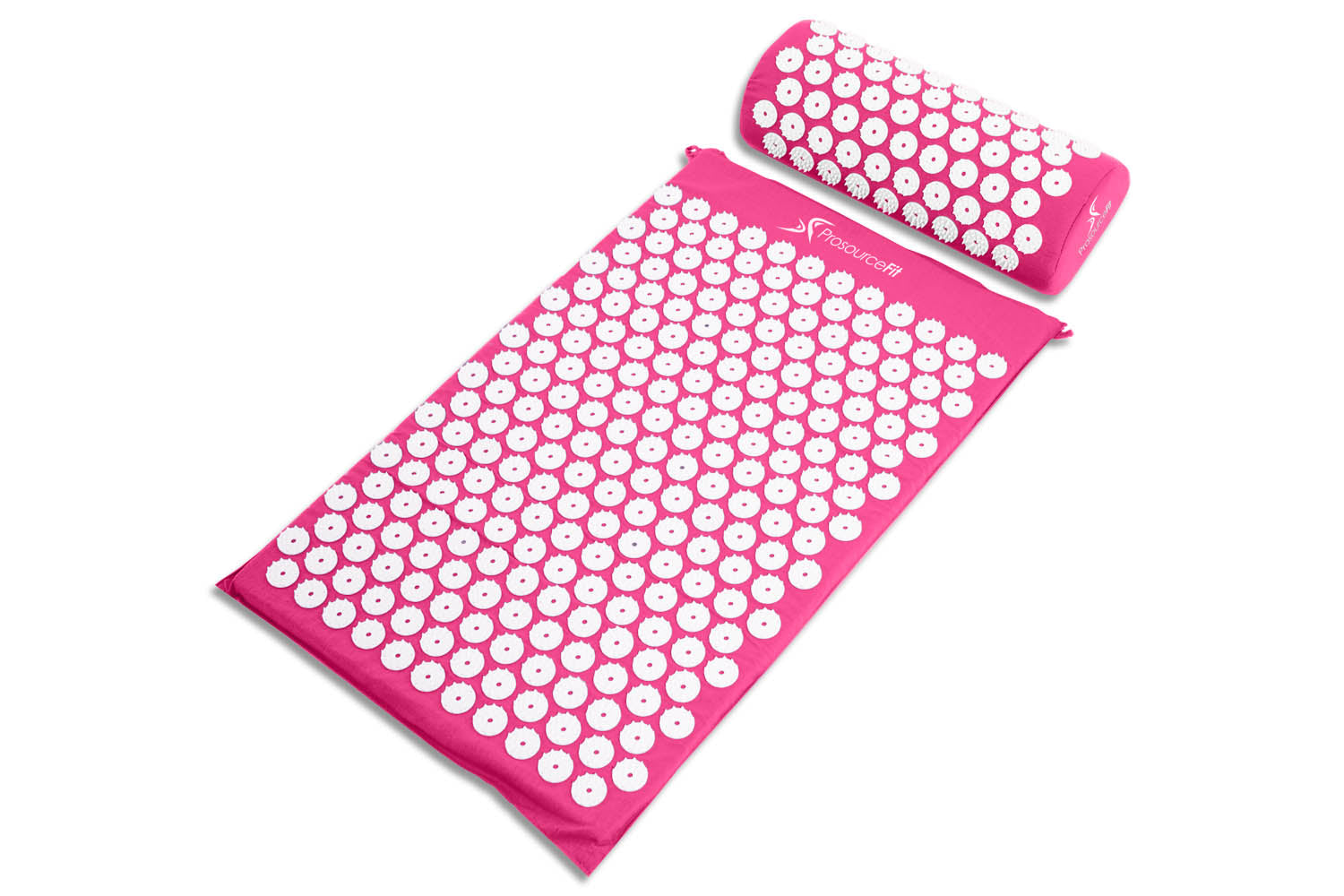 Pink Acupressure Mat and Pillow Set