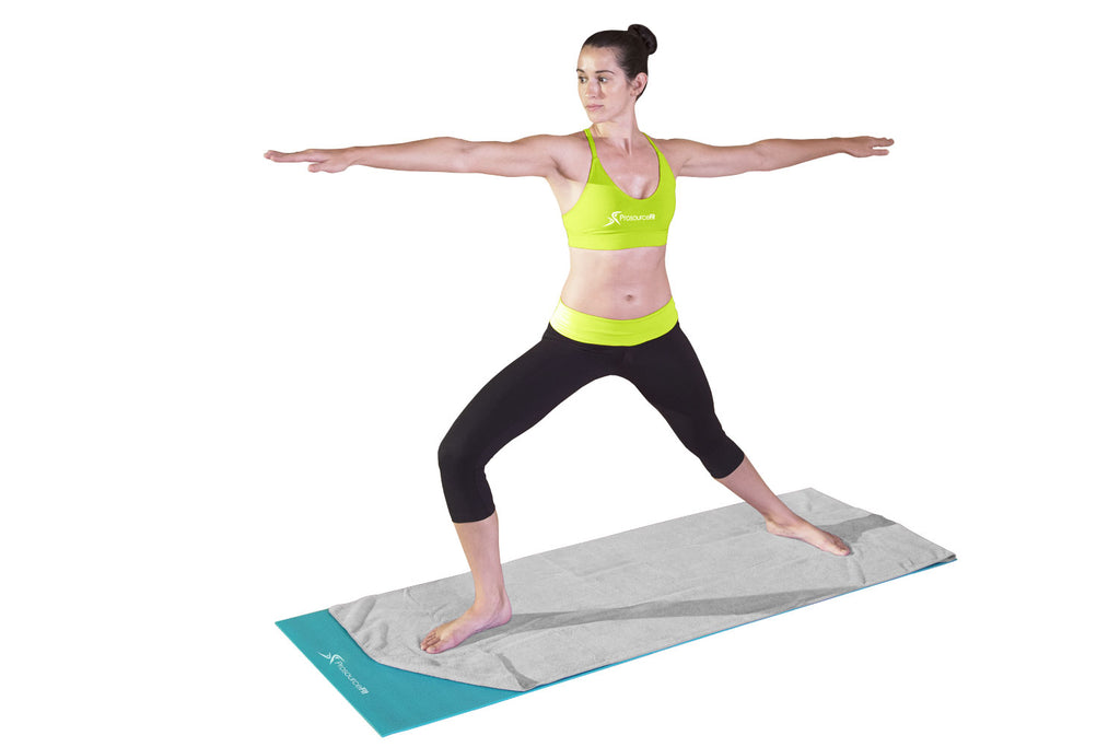 Arida Yoga Towel Grey