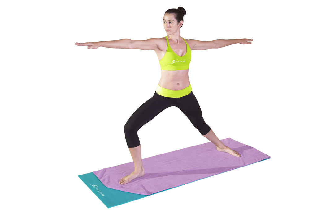 Arida Yoga Towel Purple