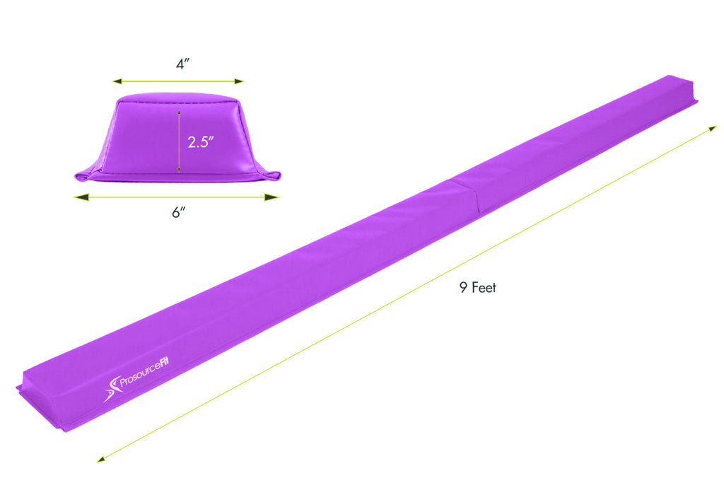 Gymnastics Balance Beam Purple