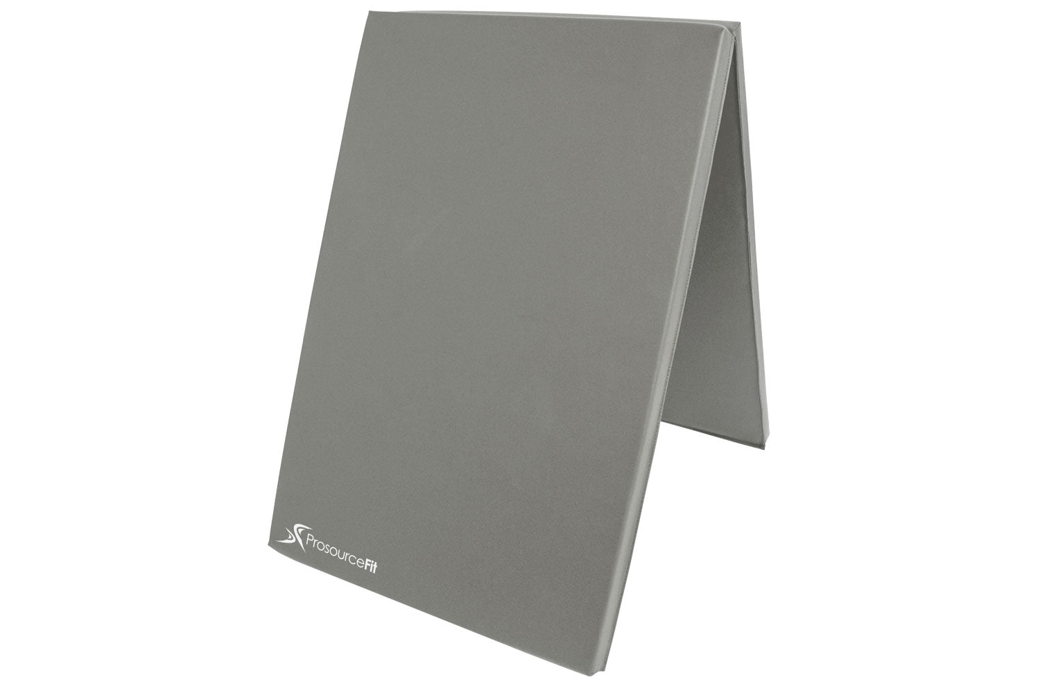 Grey Bi-Fold Folding Exercise Mat
