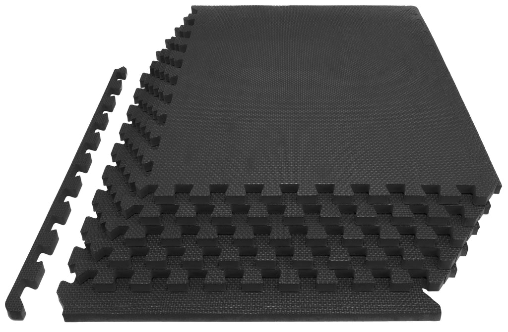 Exercise Puzzle Mat 1 inch Black