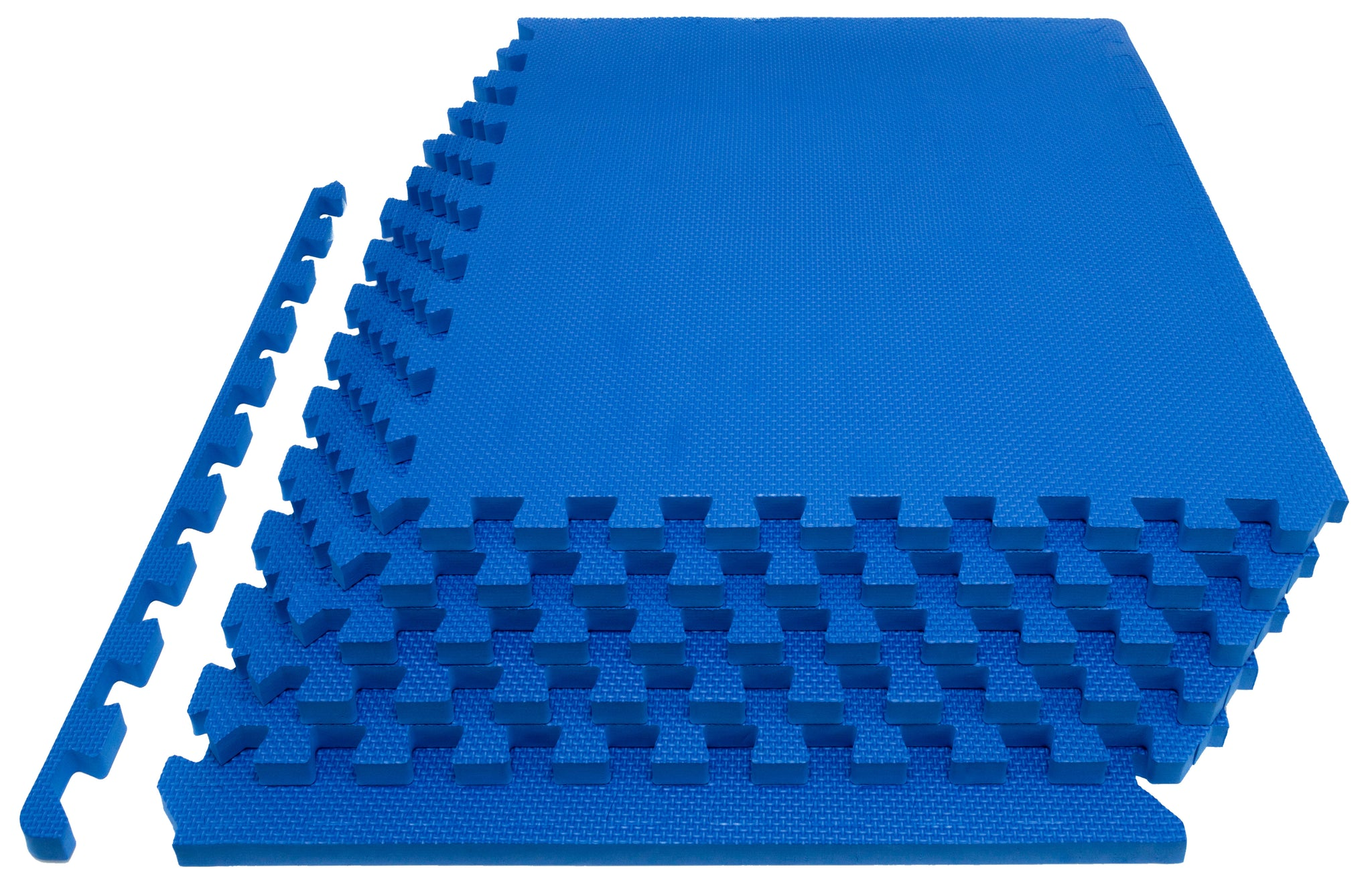 Blue Exercise Puzzle Mat 1 inch