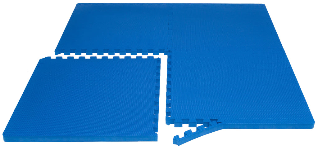 Exercise Puzzle Mat 1 inch Blue