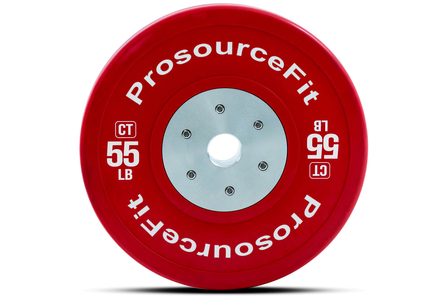 55 lb Color Training Bumper Plates (Set of 2)