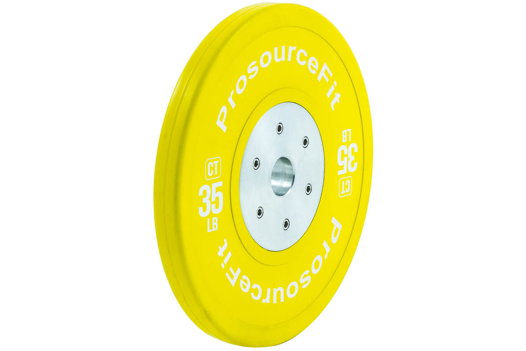 Color Training Bumper Plates (Set of 2) 35 lb