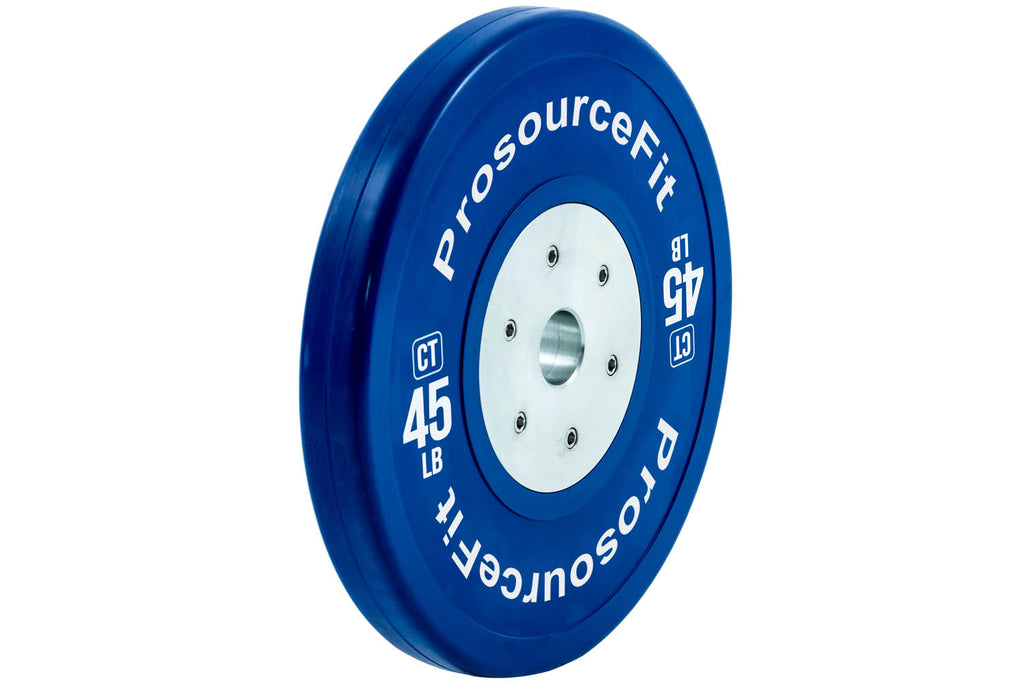 Color Training Bumper Plates (Set of 2) 45 lb