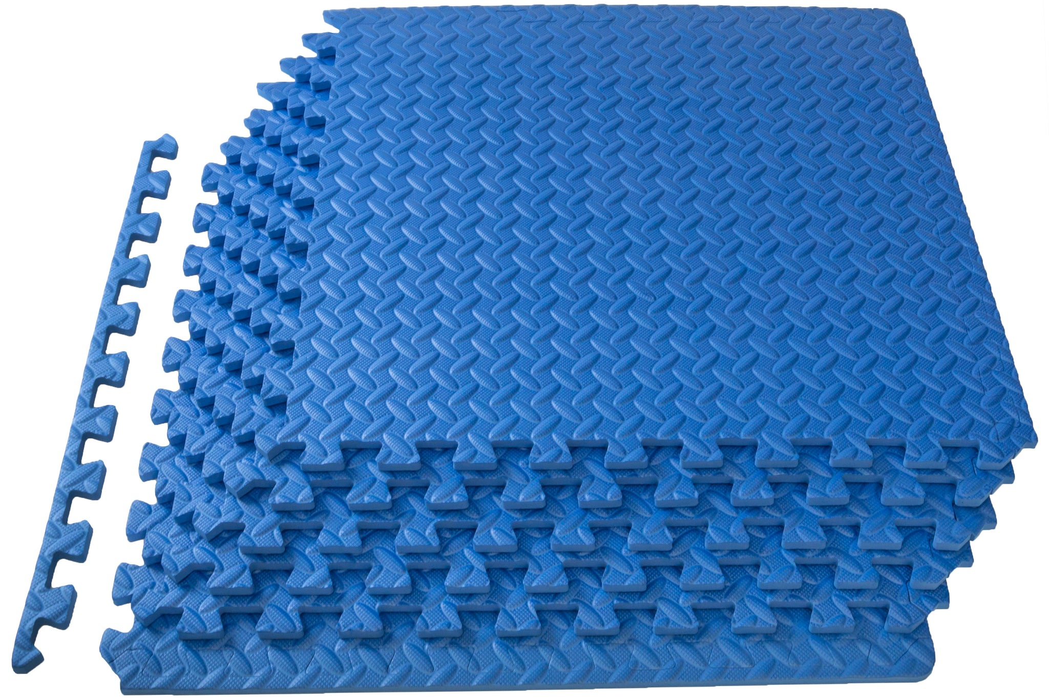 Blue Exercise Puzzle Mat 1/2 inch