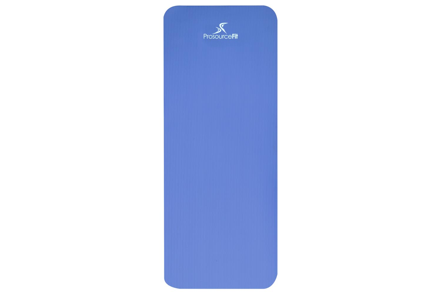 Extra Thick Yoga And Pilates Mat 1 2 Inch Blue Prosourcefit