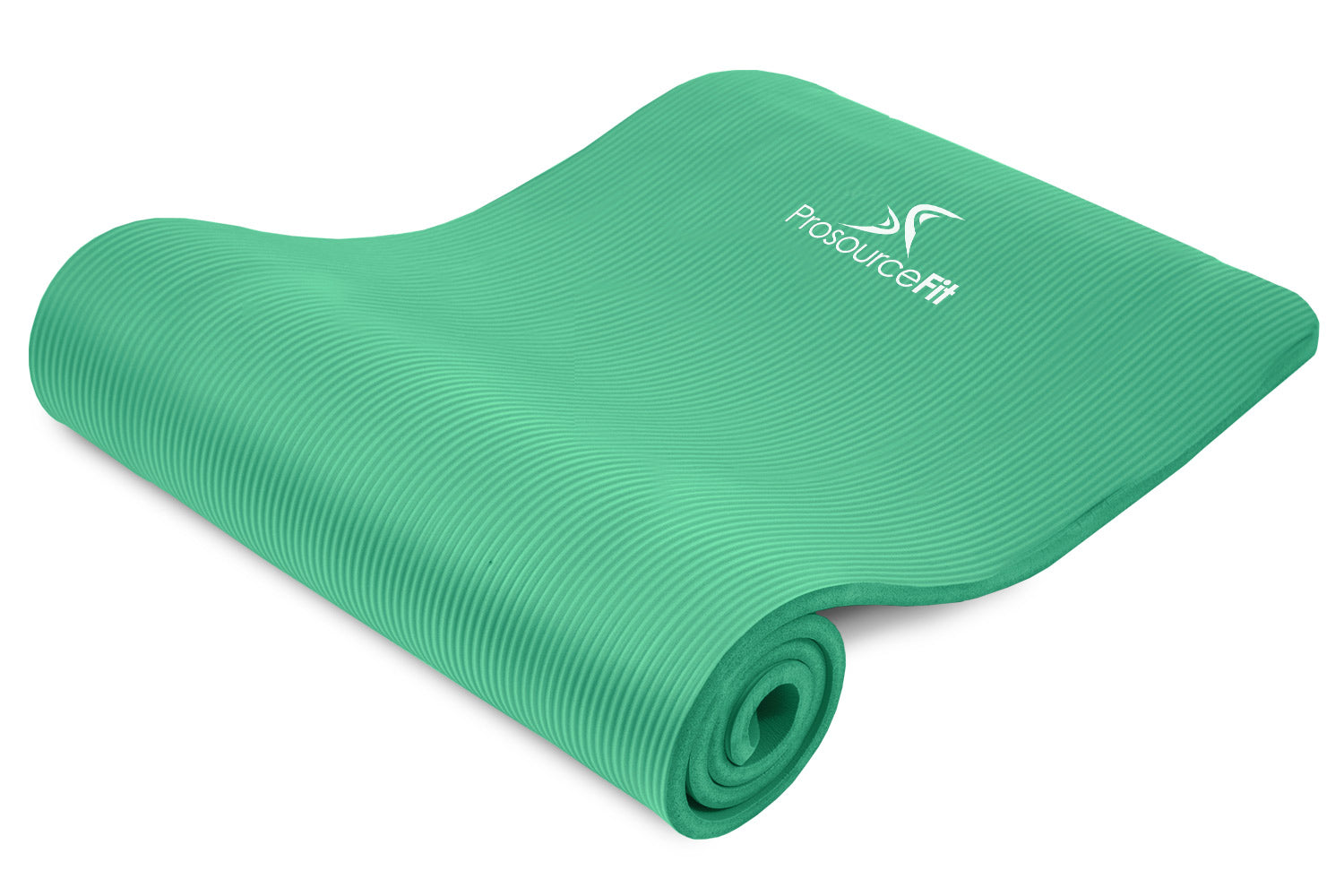 Green Extra Thick Yoga and Pilates Mat 1/2 inch