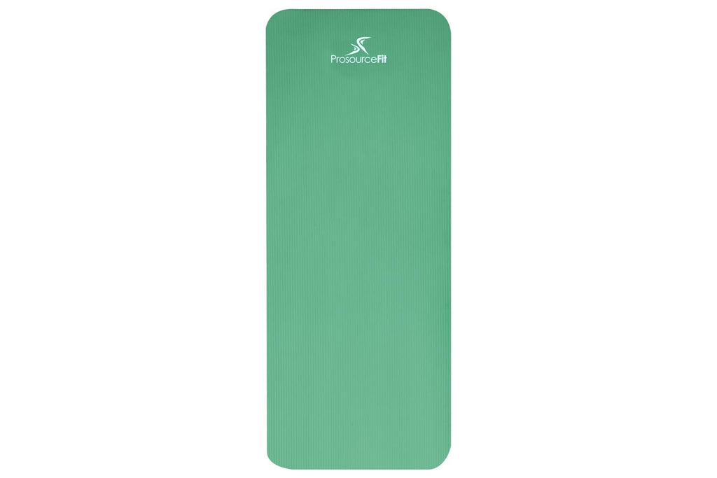 Extra Thick Yoga and Pilates Mat 1/2 inch Green