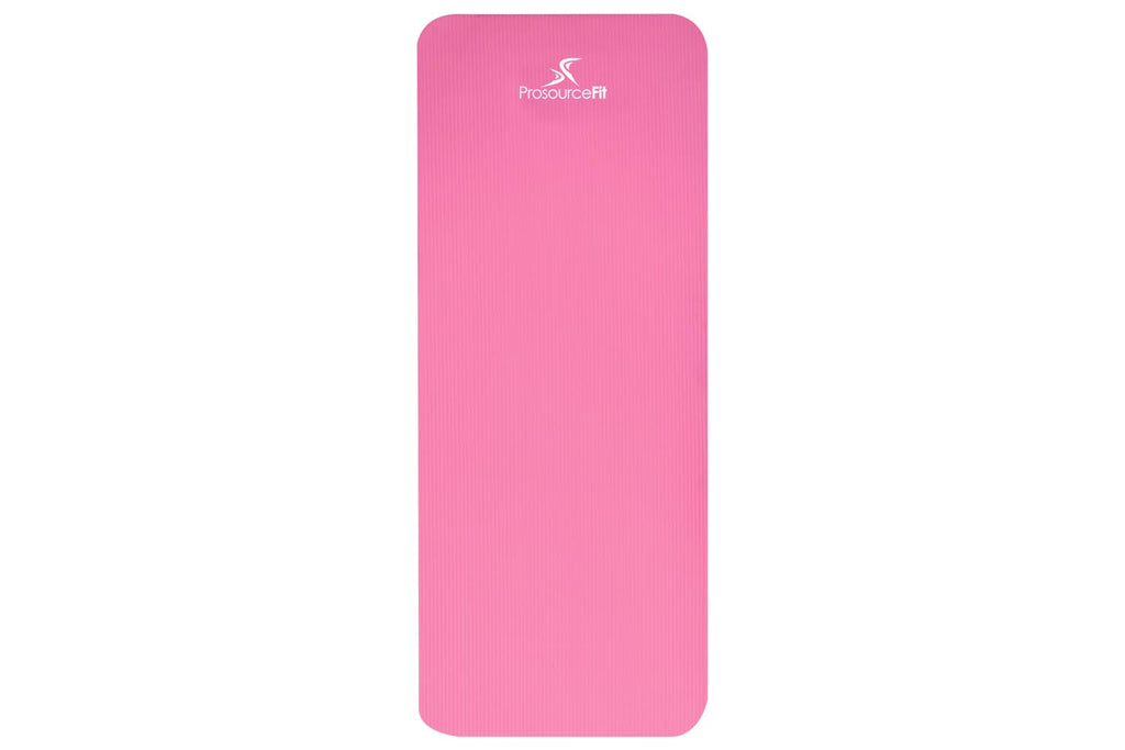 Extra Thick Yoga and Pilates Mat 1/2 inch Pink