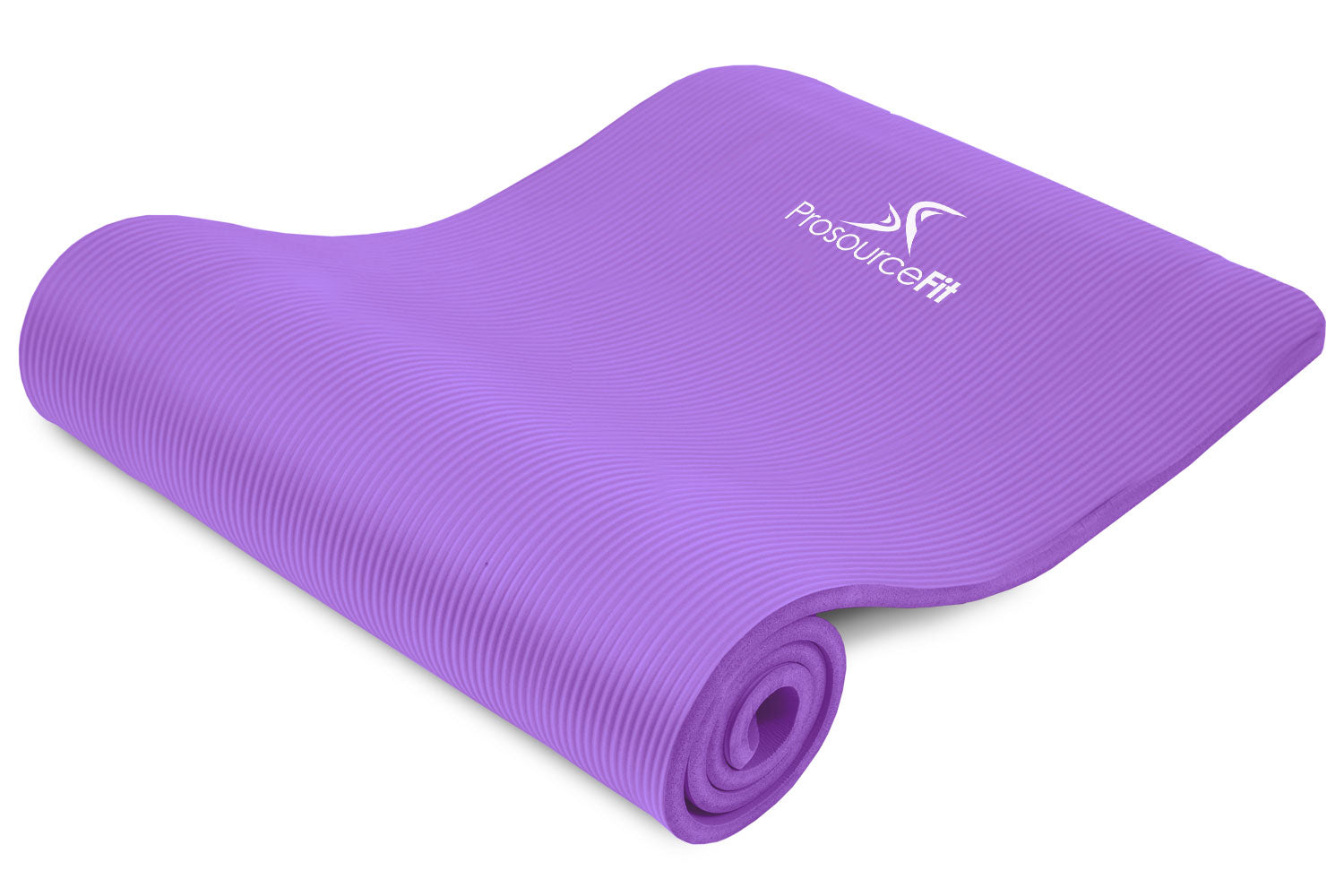 Purple Extra Thick Yoga and Pilates Mat 1/2 inch