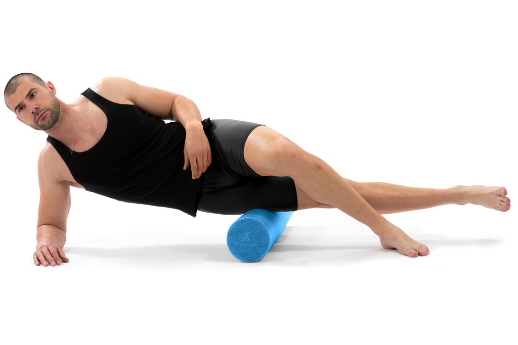 Flex Foam Roller 36x6 Blue