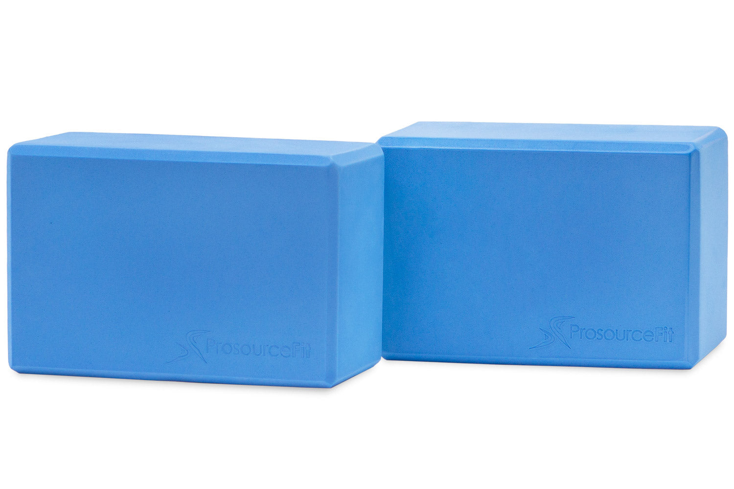 Aqua Set of 2 Foam Yoga Blocks