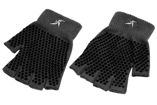 Grippy Yoga Gloves Black