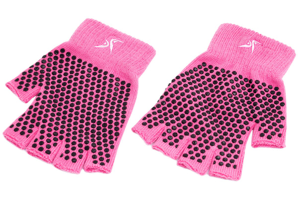 Grippy Yoga Gloves Pink