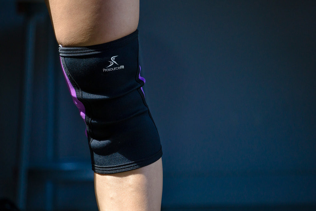 Knee Sleeves Purple-Large