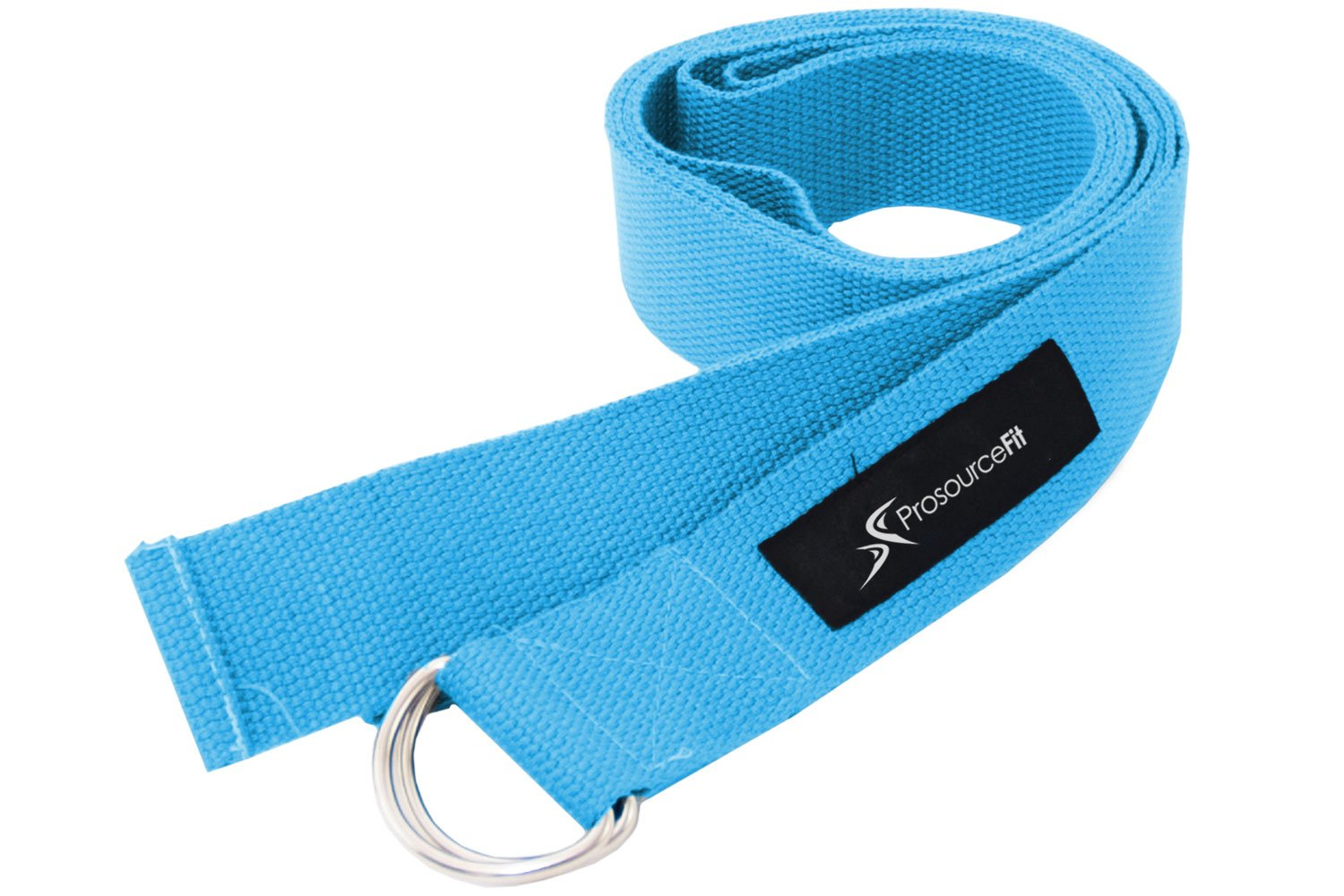 Aqua Metal D-Ring Yoga Strap