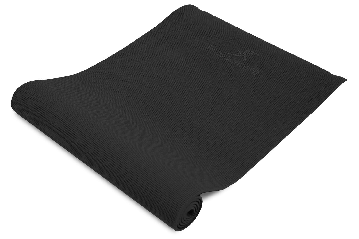 Black Original Yoga Mat 1/4""