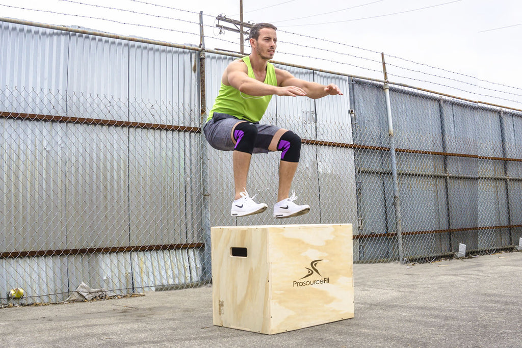 Plyometric Jump Box 24x16x20