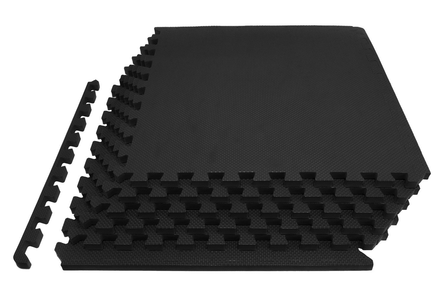 Black Exercise Puzzle Mat 3/4 inch