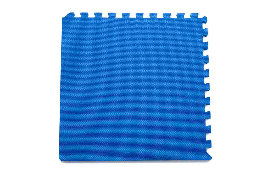 Exercise Puzzle Mat 3/4 inch Blue