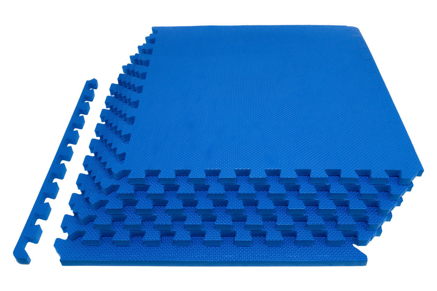 Blue Exercise Puzzle Mat 3/4 inch