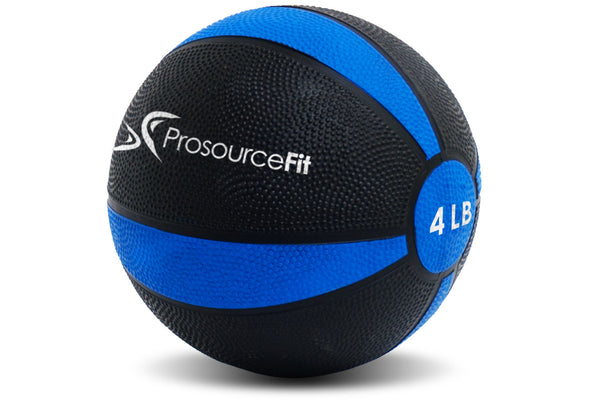 Rubber Medicine Ball 4 lb