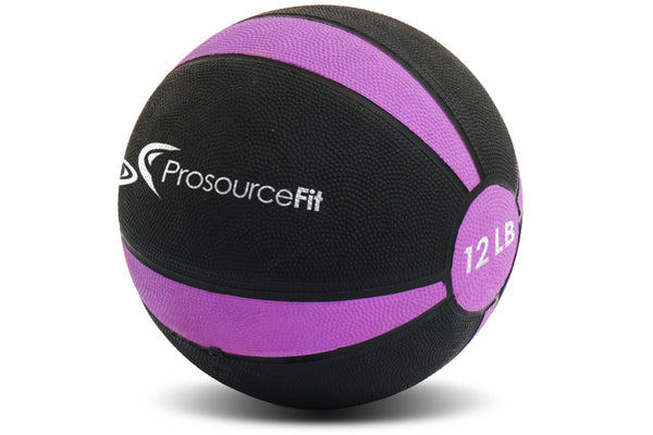 Rubber Medicine Ball 12 lb