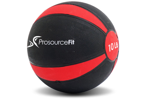 Rubber Medicine Ball 10 lb